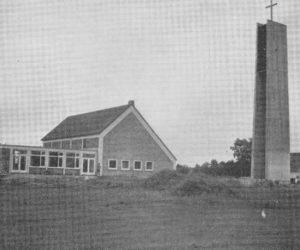 Kirche, Ansicht von Nordwesten, 1966