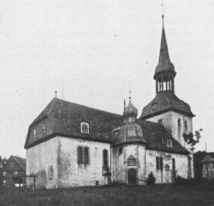 Kirche, Ansicht von Nordosten, vor 1929