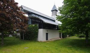 Friedenskirche, Ansicht von Südwesten