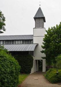 Friedenskirche Arnum, Ansicht von Süden