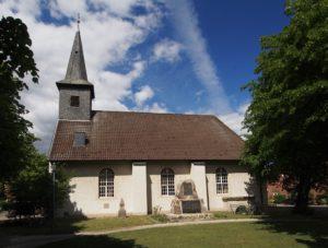 Kirche Bordenau, Ansicht von Süden