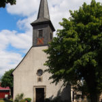 Kirche Bordenau, Ansicht von Südwesten
