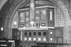 Orgel, vor 1970/71