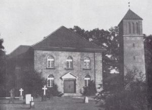 Kirche Nienhagen, Ansicht von Nordwesten, 1964