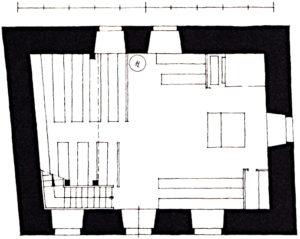 Kapelle, Grundriss, 1936