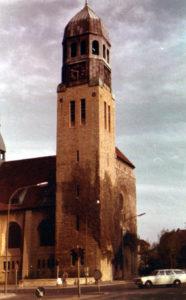 Kirche, Ansicht von Nordwesten, Teilansicht, 1980