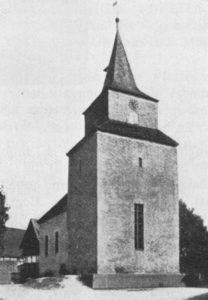 Kapelle, Ansicht von Nordwesten, vor 1929