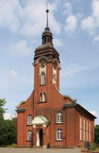 Kirche Alt-Garbsen, Ansicht von Südwesten