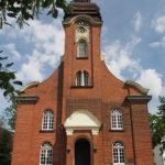 Kirche Alt-Garbsen, Ansicht von Westen