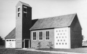 Kapelle, Ansicht von Südosten, 1963