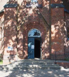 Fintel, Kirche, Westportal