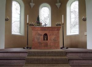 Fischerhude, Kirche, Altarraum