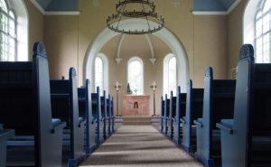Fischerhude, Kirche, Innenraum, Altarraum