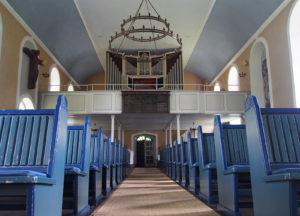 Fischerhude, Kirche, Innenraum, Orgel