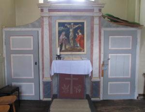 Gifhorn Nicolai Altar Sakristei
