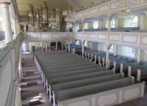 Kirche, Blick zur Orgel, 2017, Foto: Uwe Gierz, Gifhorn