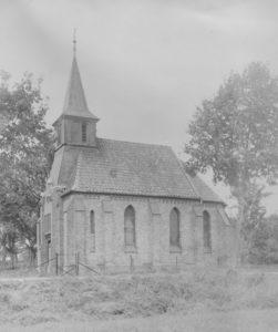 Kapelle, Ansicht von Südwesten, nach 1897