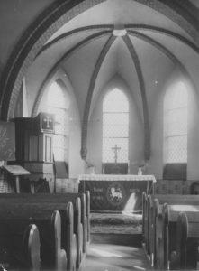 Kapelle, Blick zum Altar, nach 1897