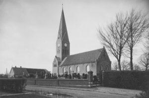 Kirche, Ansicht von Südosten, nach 1909/10