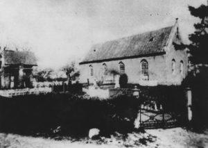 Kirche, Ansicht von Südosten, vor 1909