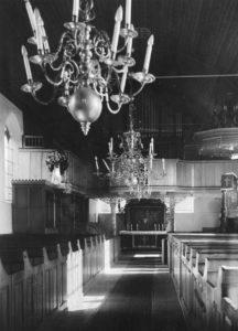 Kirche, Blick zum Altar, nach 1887, vor 1959