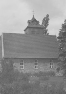 Kirche, Ansicht von Südwesten, nach 1962