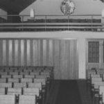 Kirche, Blick nach Westen, 1964
