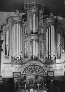 Orgel, vor 1962