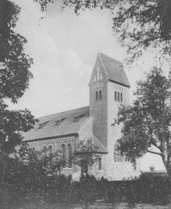 Kirche, Außenansicht, 1912