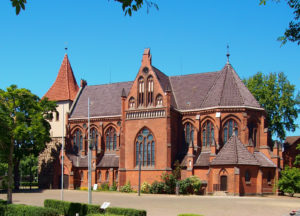 Elisabeth-Kirche, Ansicht von Südosten, 2020