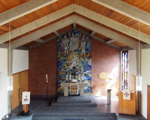Lohnde, Kirche, Altarraum