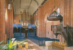 Kirche, Blick zur Orgel, nach 1964