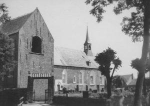 Kirche, Ansicht von Südwesten, um 1930