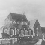 Kirche, Ansicht von Nordosten, um 1850