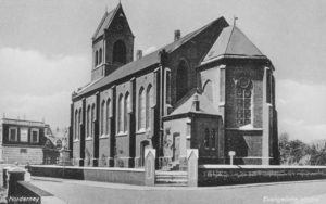 Kirche, Ansicht von Südosten, um 1948