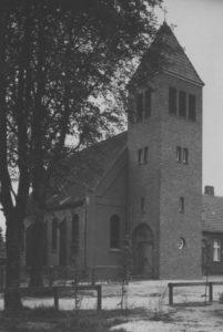 Kirche, Außenansicht, 1955