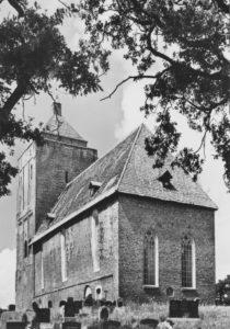 Kirche, Ansicht von Südosten, um 1971