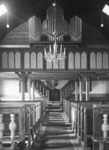 Kirche, Blick zur Orgel, nach 1935, vor 1972
