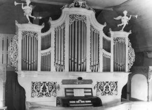 Orgel, vor 1967