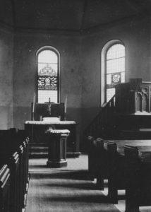 Kirche, Blick zum Altar, vor 1999