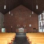 Kirche, Blick zum Altar, Foto: Fritz Fröse, 10.01.2020