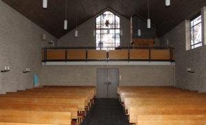 Kirche, Blick zur Orgel, Foto: Fritz Fröse, 10.01.2020
