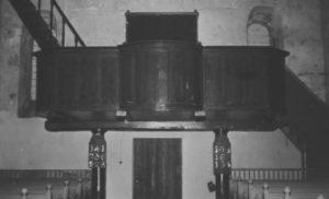 Kirche, Blick zur Westempore, nach 1928, vor 1963