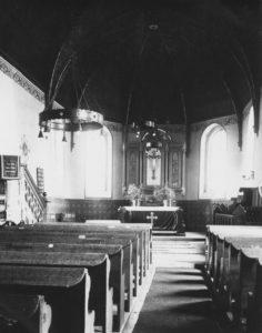 Kirche, Blick zum Altar, nach 1877, vor 1938