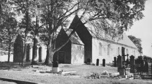 Kirche, Ansicht von Südwesten, nach 1912