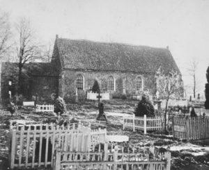 Kirche, Ansicht von Südwesten, vor 1912