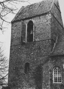 Glockenturm, Ansicht von Südosten, nach 1949