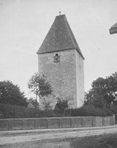 Kapelle bzw. Glockenturm, Ansicht von Südwesten