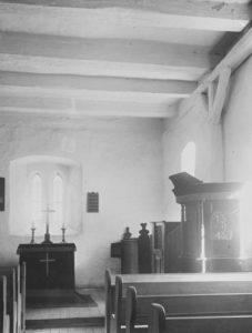 Kapelle, Blick zum Altar