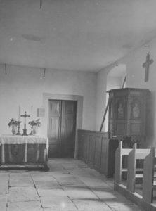 Kapelle, Blick zum Altar, nach 1900